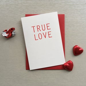 Image of True Love  card