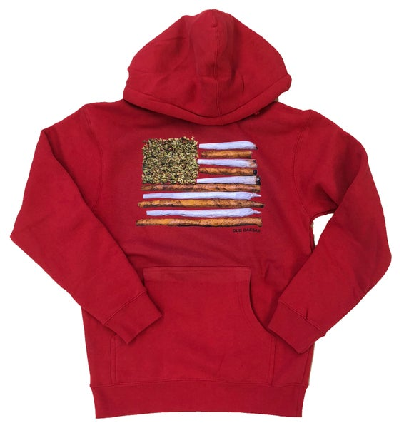 Image of Promiseland Hoodie Red