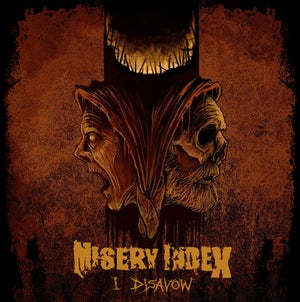 "Image of Misery Index ""I Disavow"" 7"" VIT051"