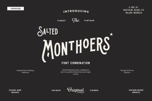 Image of Salted Monthoers