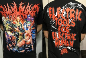 Image of 7 H.Target ‎– Electric Tools For Electric Human MERCH NEW!!!!