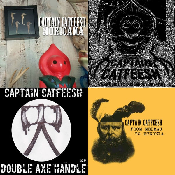 Image of Captain Catfeesh CDs