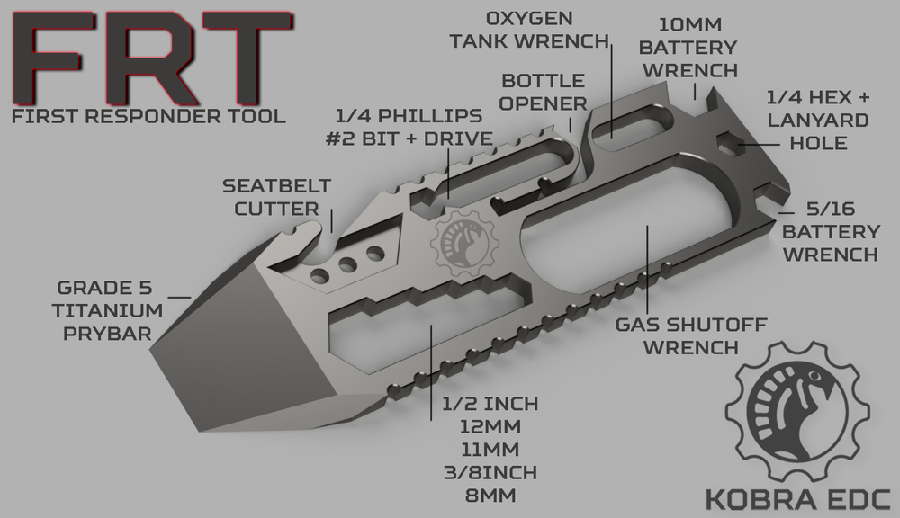 Image of The FRT - First Responder Tool *PRE-ORDER*