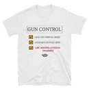 Image 2 of GUN CONTROL WHITE T