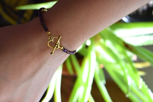Image of The Code of Love Bracelet