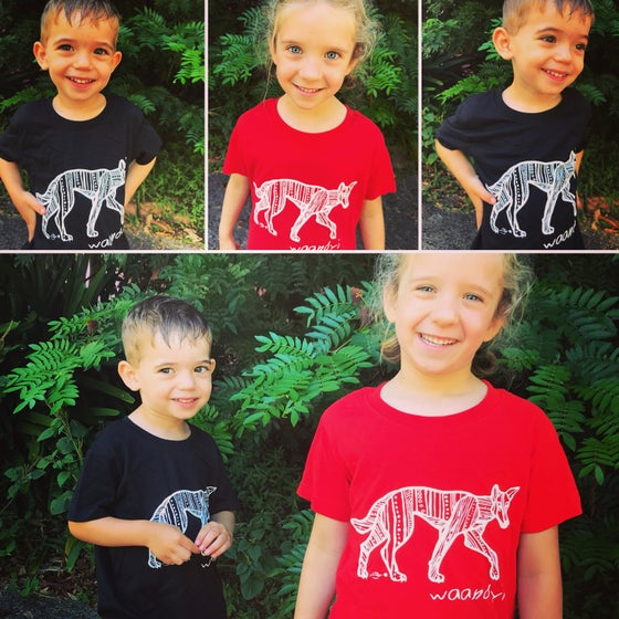 Image of Waandyi- Dingo Tee Kids