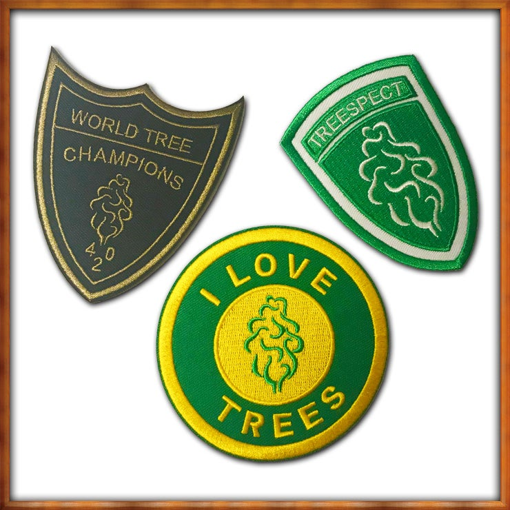 Image of Tree Shurts Patches 3 Pack
