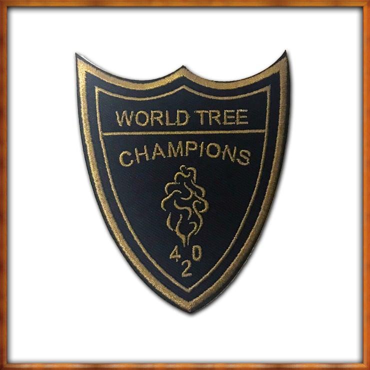 Image of World Tree Champions Patch