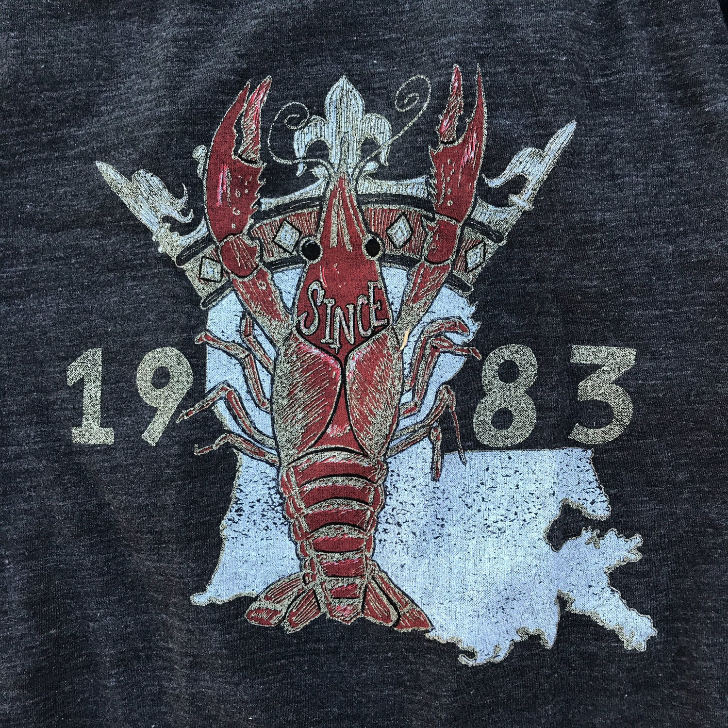 Image of Adult Crew 1983 Crawfish Tee