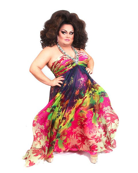 Image of Ginger Minj Floral 8x10 - UNSIGNED & SIGNED