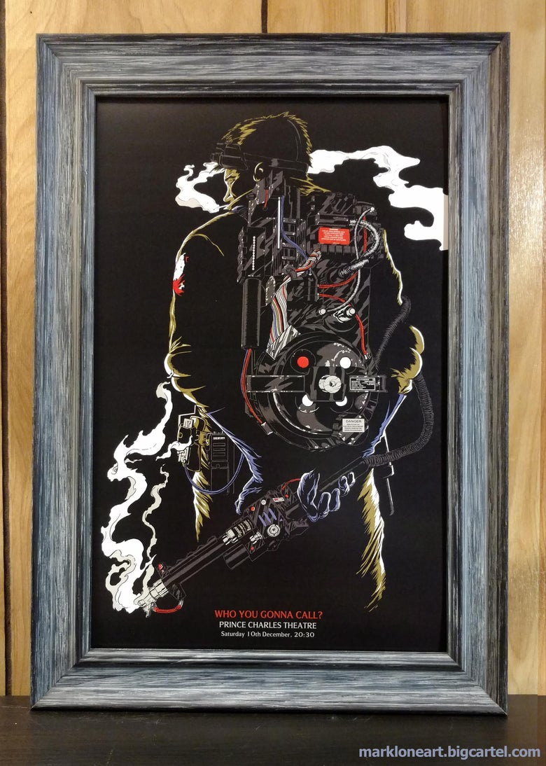 Image of who you gonna call digital print
