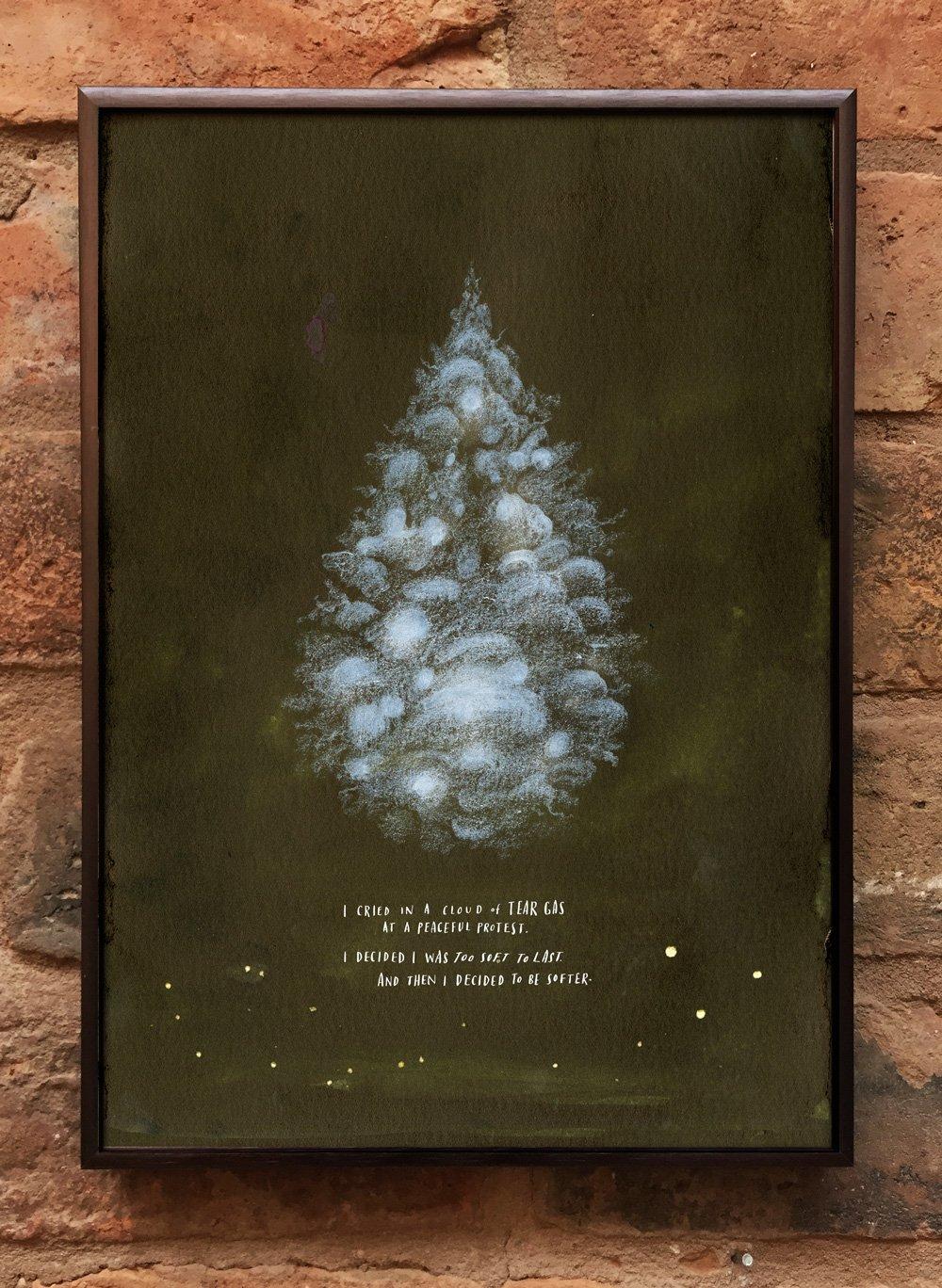 Andrea Gibson Print: 'Teargas' / A4