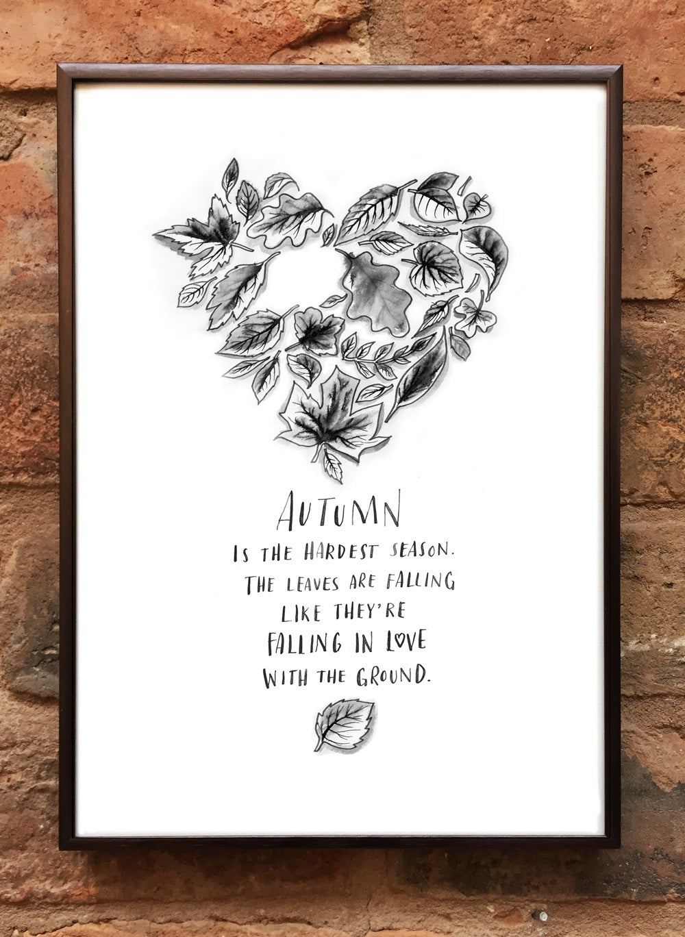 Andrea Gibson Print: 'Autumn' / A4