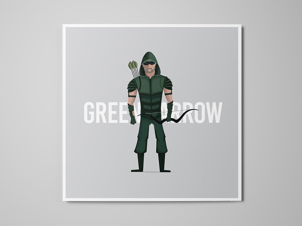 Image of Green Arrow - Print