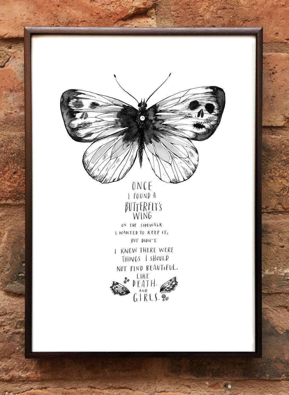 Andrea Gibson Print: 'Butterfly' / A4
