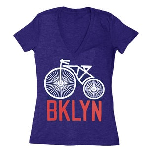 Image of Women's BK Bike VNeck