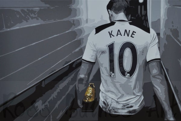 Image of THE GOLDEN BOOT (3x2ft canvas print)