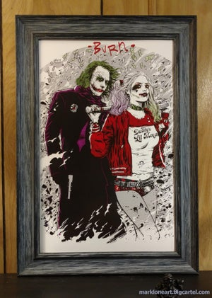 Image of Joker and Harley:BURN