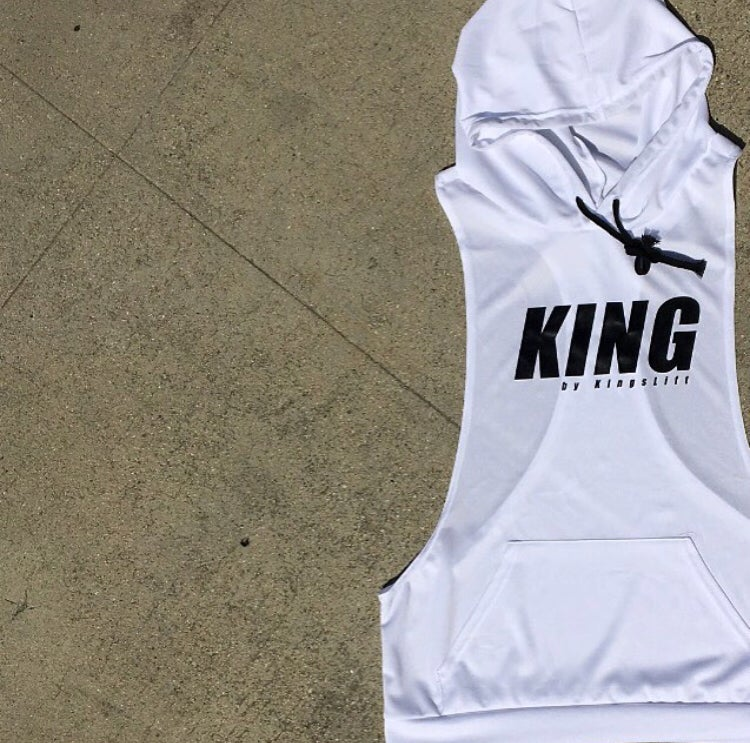 Image of KING™ Hooded Racerback Tank