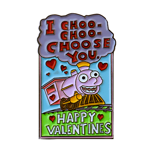 Image of CHOO CHOOSE ME VALENTINES PACK