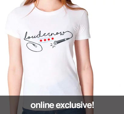 Image of LOUDERNOW Girls Microphone Shirt