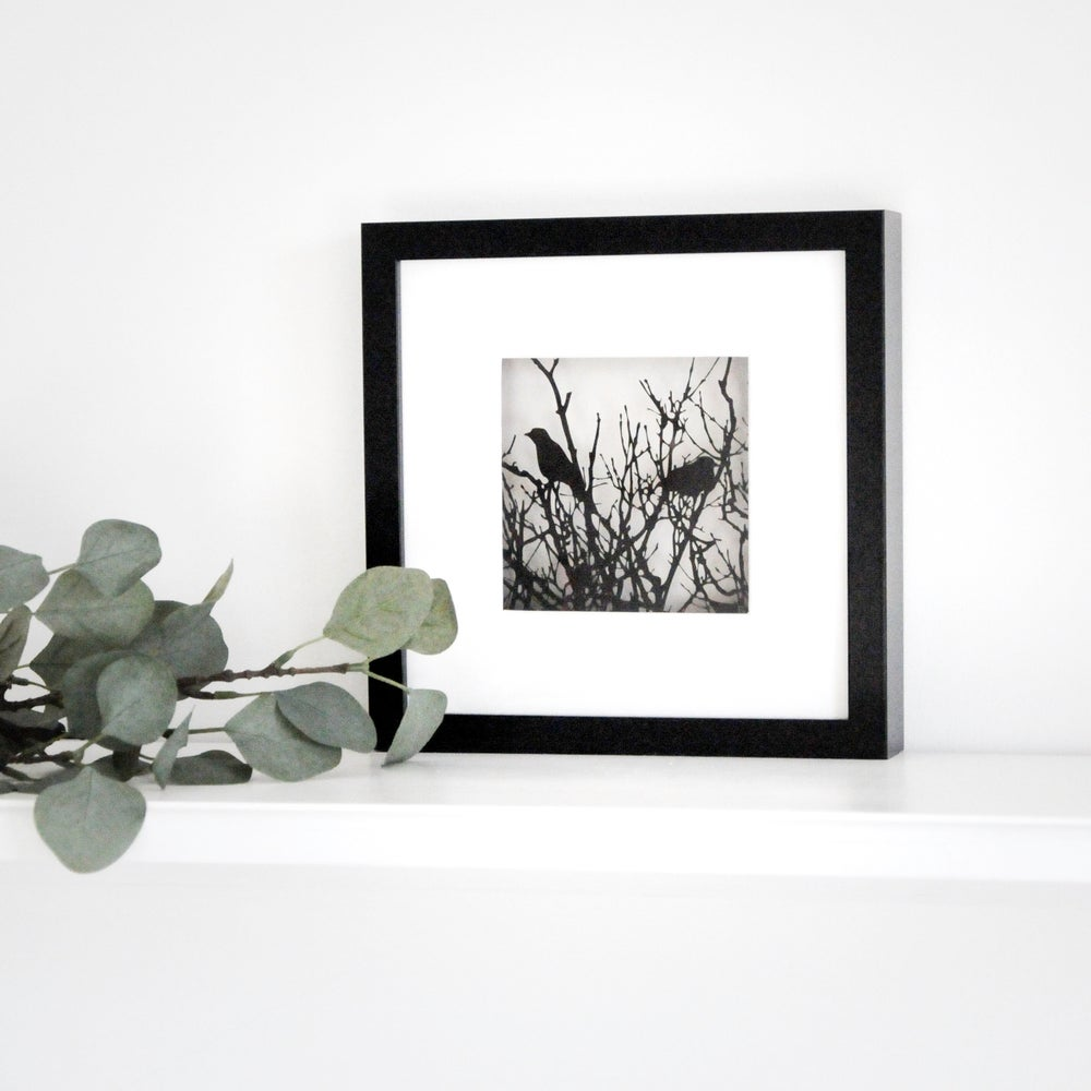 Image of Framed Entangled Scene - Small