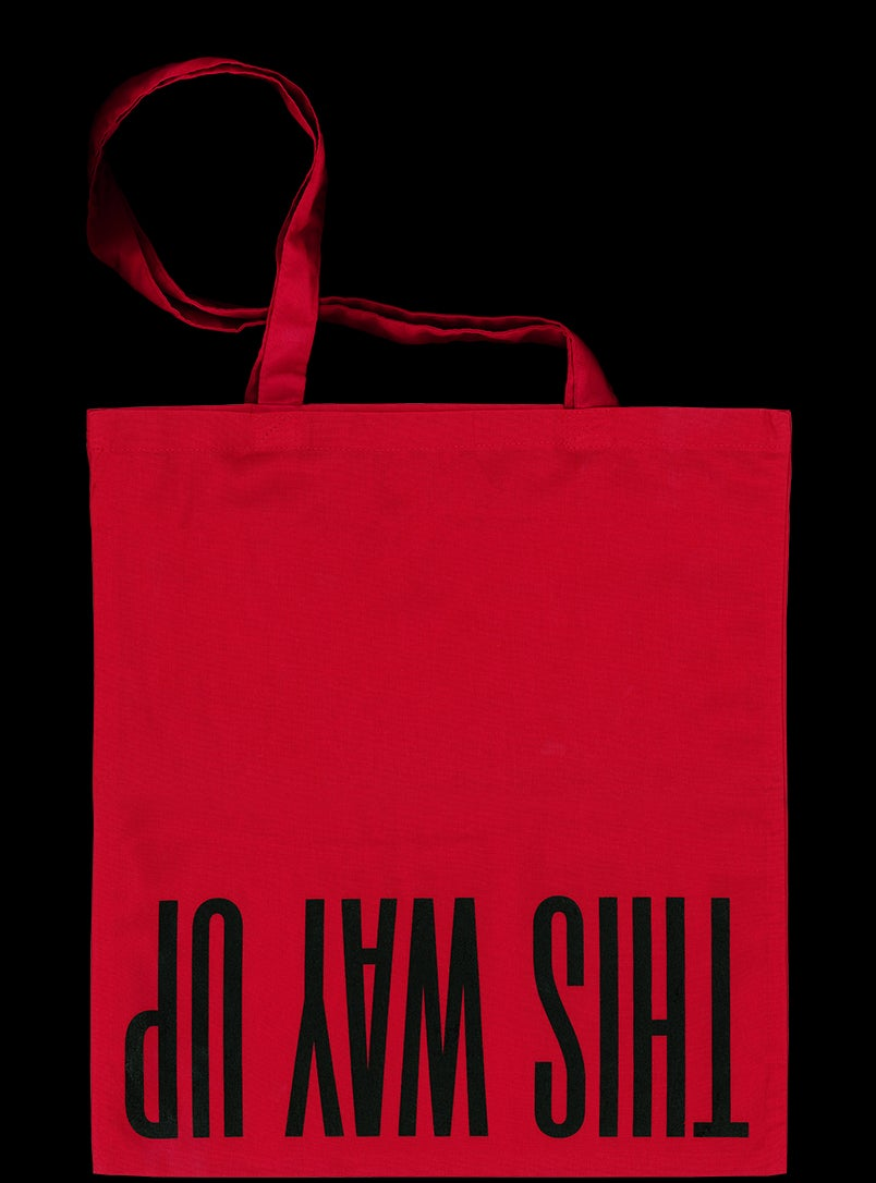 Image of Red TWU Tote (TWU01TR)