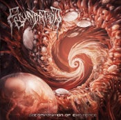 Image of FECUNDATION	Decomposition of existence	CD/T-shirt  OUT NOW !!!