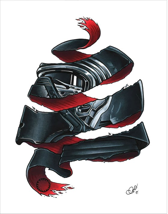 "Image of ""Kylo/Escher"""