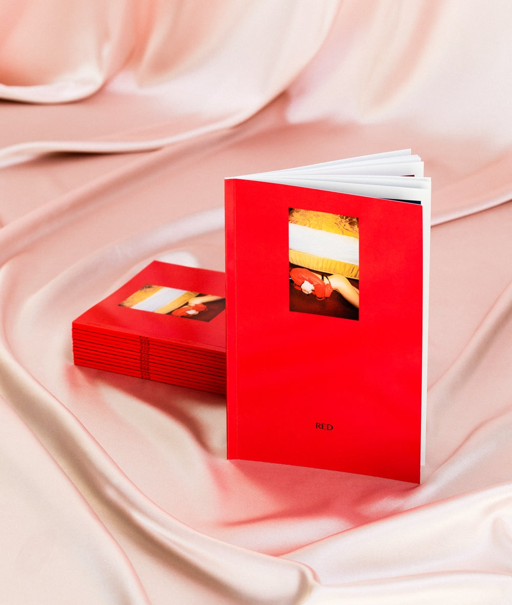 Image of RED a photoGRAPHIC ZINE