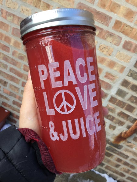 Image of PEACE, LOVE & JUICE
