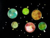 Image of Galaxy Pendants ~ Solar System #2