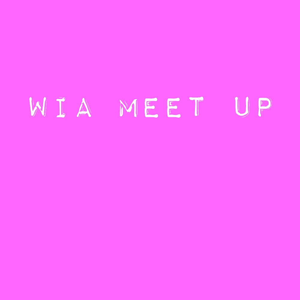 Image of WIA meet up no.1
