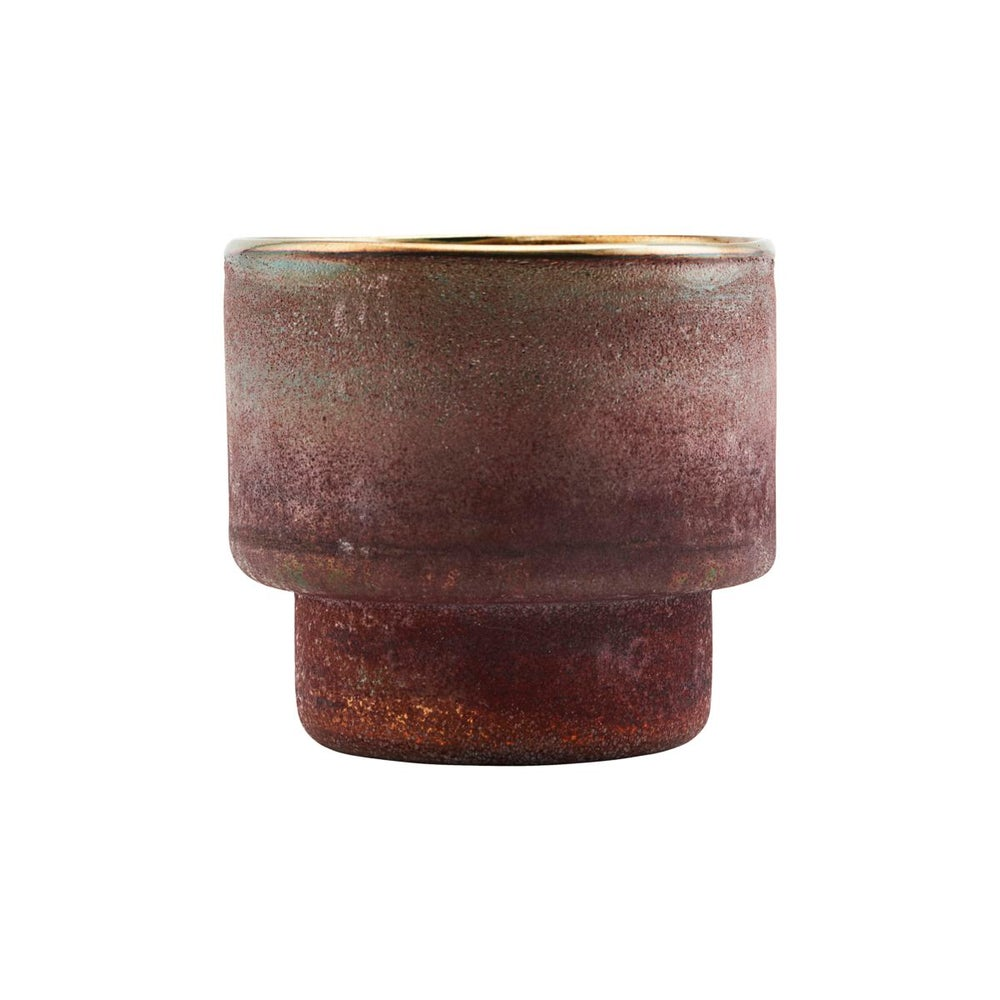 Image of Burnished / metallic pot - 30% off