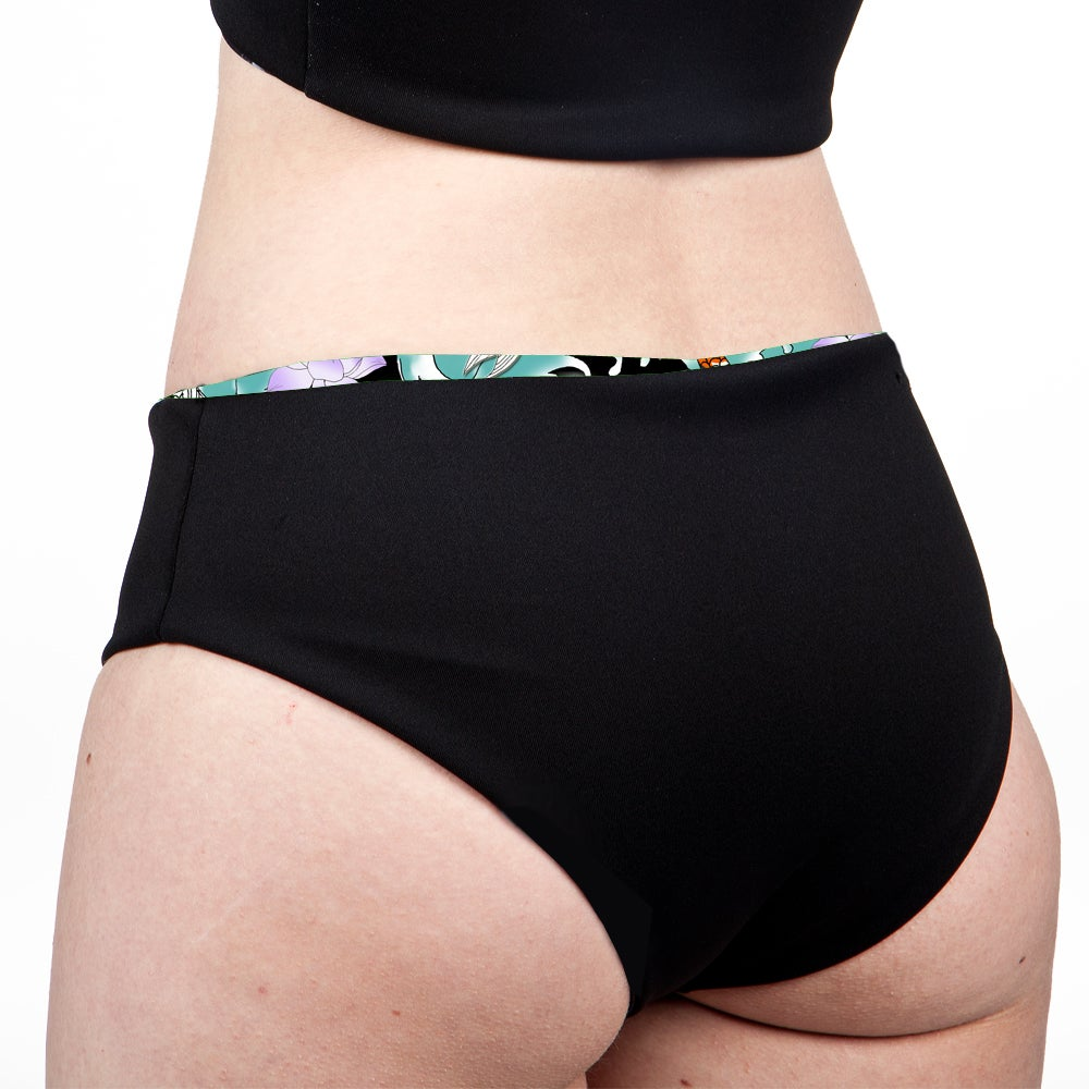 Image of Koi Pond Low Rise Cheeky Shorts
