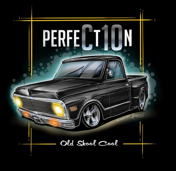 Image of Perfection 72 stepside black