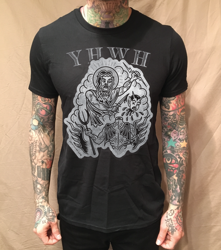 Image of YHWH BLACK TEE