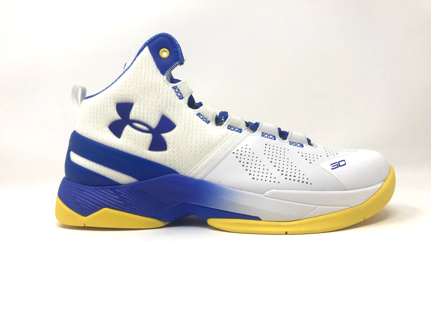 "Image of Under Armour Curry 2 ""Gold Rings"" GS (FREE SHIPPING)"
