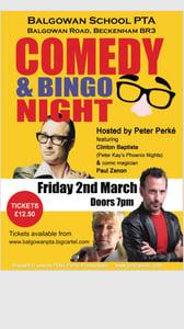 Image of PTA Comedy & Retro Bingo Night!