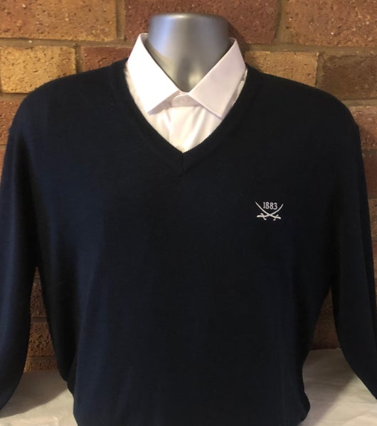 Image of Navy V-Neck Jumpers (Free UK postage)