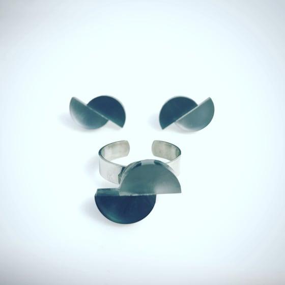Image of Asyci prstýnek / set prstýnek&náušnice