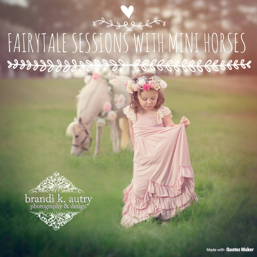 Image of Fairytale Sessions with Mini Horses
