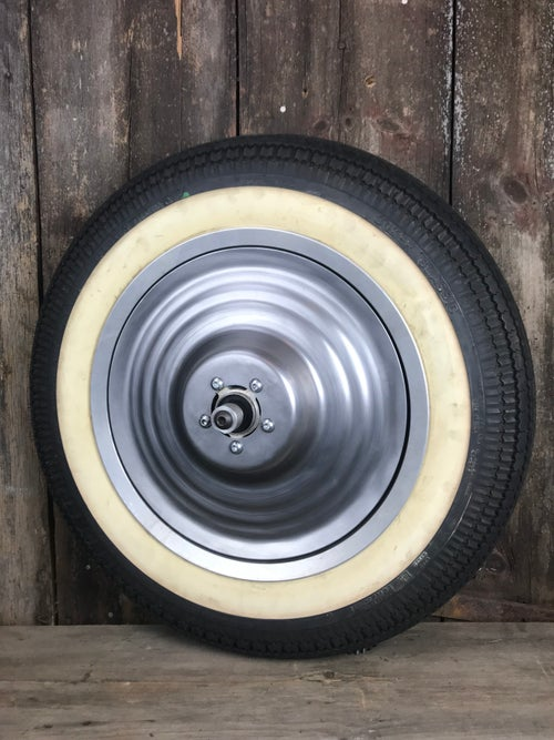 """Image of Wheel Covers for 16"""" Sportster Mag Wheels"""