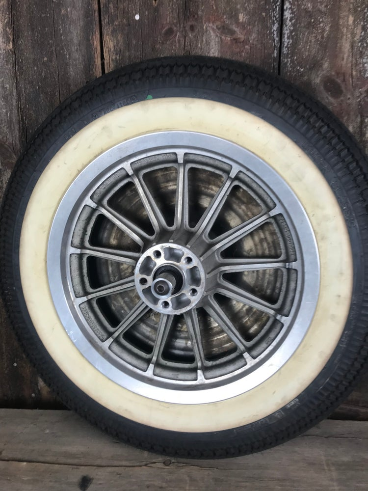 "Image of Wheel Covers for 16"" Sportster Mag Wheels"