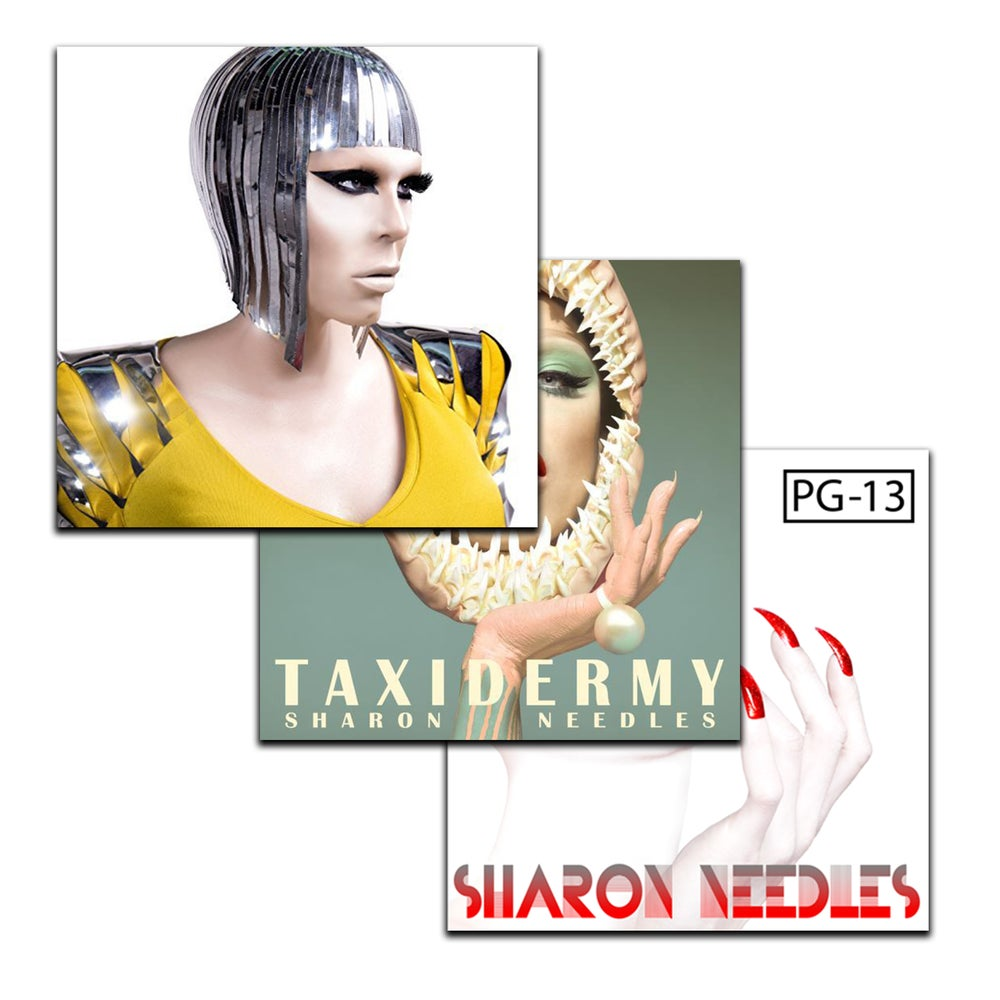 Image of CLEARANCE SALE - Sharon 3 Studio Album Combo Pack