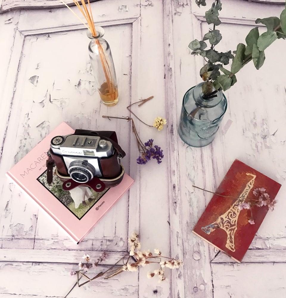 "Image of Fondo de fotografia ""Puerta vintage Paris"""