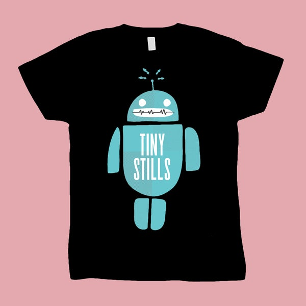 Image of Tiny Stills - Robot Tee
