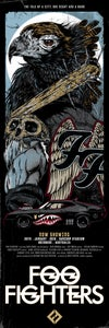 Image of FOO FIGHTERS - BRISBANE SUNCORP - EAGLE gigposter