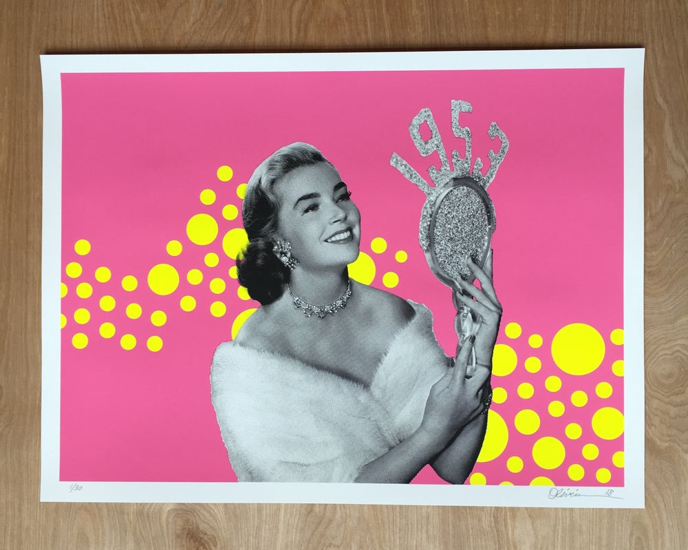 "Image of ""1953"" -  Pink Edition  (with free shipping)"