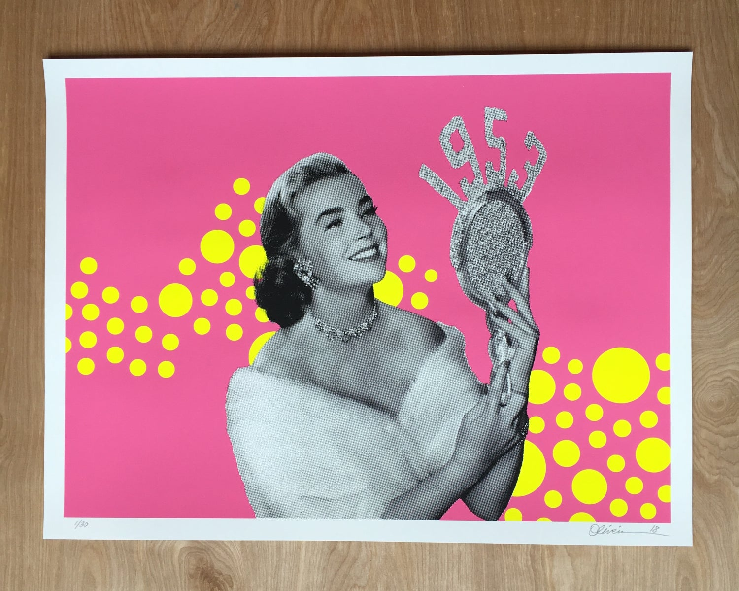 "Image of ""1953"" -  Pink Edition  (free shipping)"